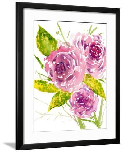 Bouquet Rose I-Melissa Wang-Framed Art Print