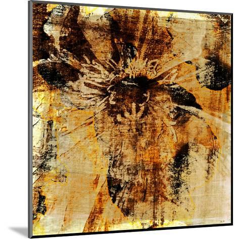 Poppy Gold III-Sia Aryai-Mounted Art Print