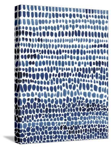 Blue Progression II-Tim OToole-Stretched Canvas Print