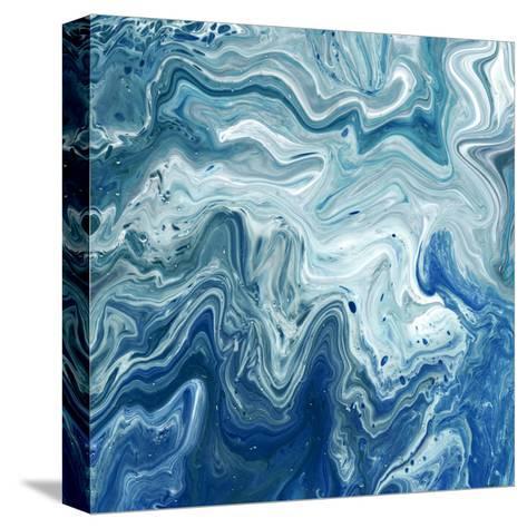 Indigo Minerals I-Jarman Fagalde-Stretched Canvas Print