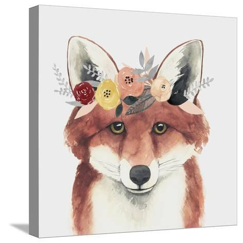 Flower Crown Forester IV-Grace Popp-Stretched Canvas Print