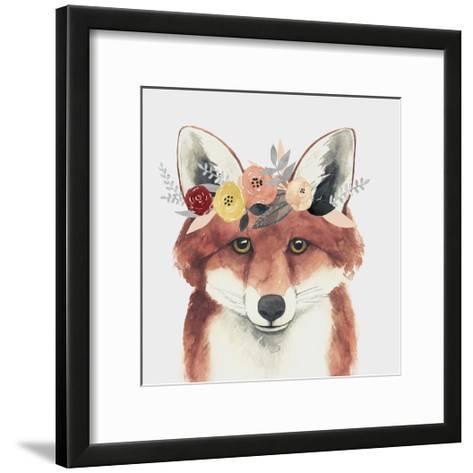 Flower Crown Forester IV-Grace Popp-Framed Art Print