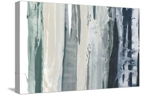 Navy Decision II-Sisa Jasper-Stretched Canvas Print