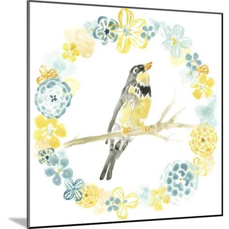 Solo Songbird I-June Vess-Mounted Art Print