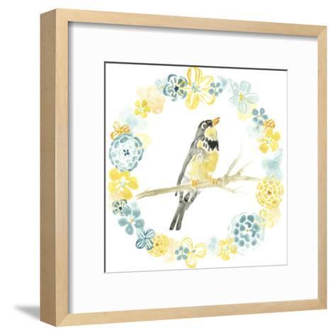 Solo Songbird I-June Vess-Framed Art Print