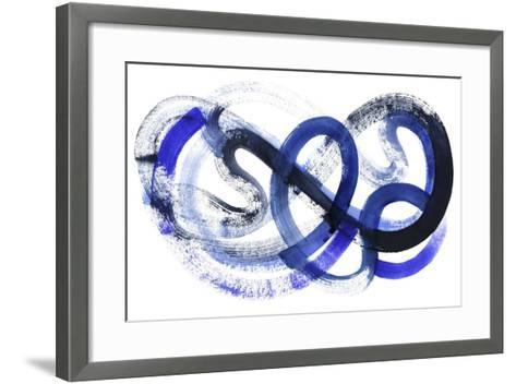 Blue Kinesis II-Grace Popp-Framed Art Print