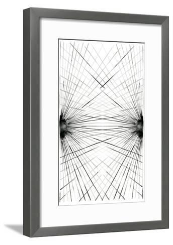 Rays III-Grace Popp-Framed Art Print