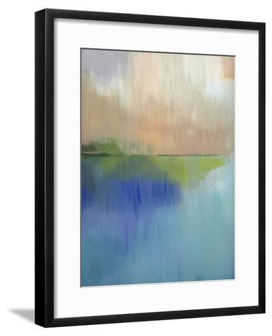 Peaks Bay I-Alison Jerry-Framed Art Print