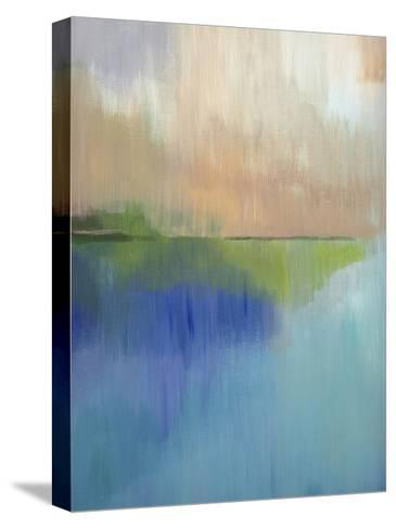 Peaks Bay I-Alison Jerry-Stretched Canvas Print