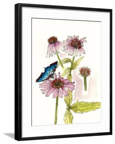 Floral Field Notes II-Melissa Wang-Framed Art Print