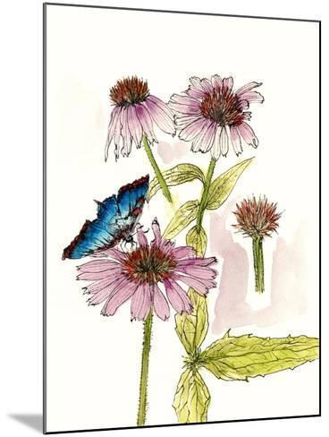 Floral Field Notes II-Melissa Wang-Mounted Art Print
