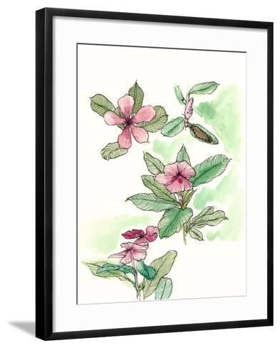 Floral Field Notes VI-Melissa Wang-Framed Art Print