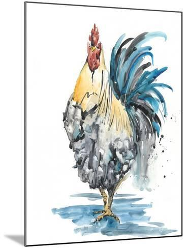 Rooster Splash II-Melissa Wang-Mounted Art Print