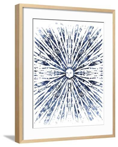 Indigo Ink Motif VIII-June Vess-Framed Art Print