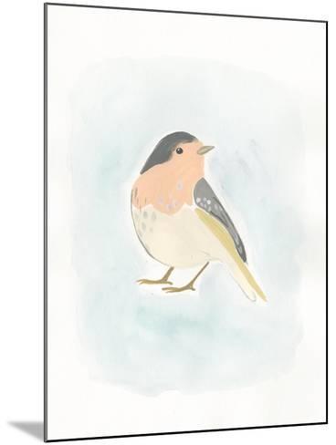 Dapper Bird III-June Vess-Mounted Art Print