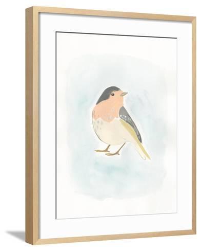 Dapper Bird III-June Vess-Framed Art Print