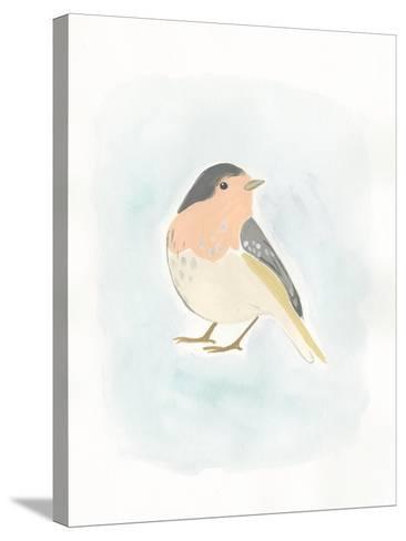 Dapper Bird III-June Vess-Stretched Canvas Print