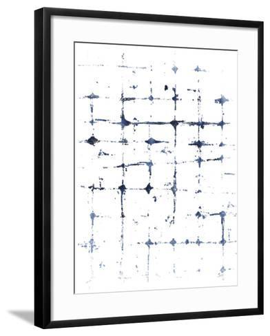 Indigo Ink Motif VII-June Vess-Framed Art Print