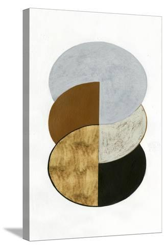 Stacked Coins II-Grace Popp-Stretched Canvas Print