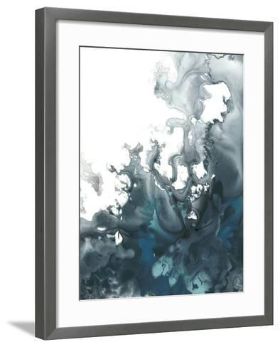 Indigo Tempest I-June Vess-Framed Art Print