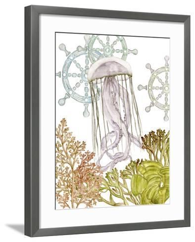 Undersea Creatures III-Melissa Wang-Framed Art Print