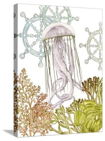 Undersea Creatures III-Melissa Wang-Stretched Canvas Print