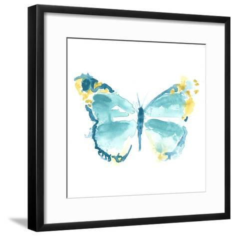 Butterfly Traces IV-June Vess-Framed Art Print