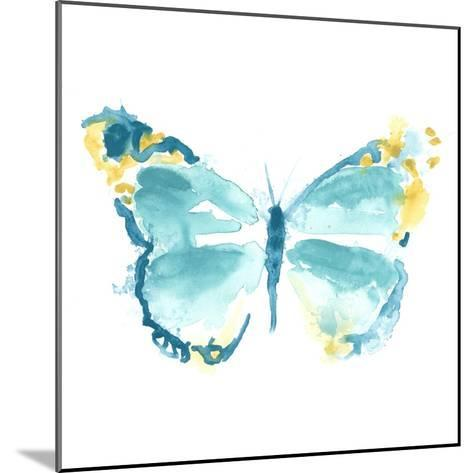 Butterfly Traces IV-June Vess-Mounted Art Print