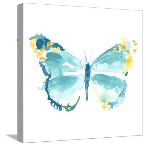 Butterfly Traces IV-June Vess-Stretched Canvas Print