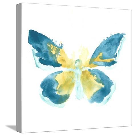 Butterfly Traces I-June Vess-Stretched Canvas Print