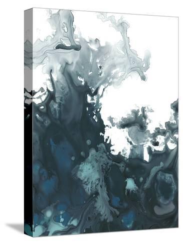 Indigo Tempest II-June Vess-Stretched Canvas Print