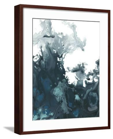 Indigo Tempest II-June Vess-Framed Art Print