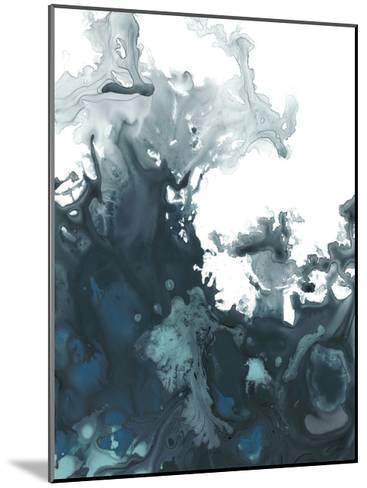 Indigo Tempest II-June Vess-Mounted Art Print