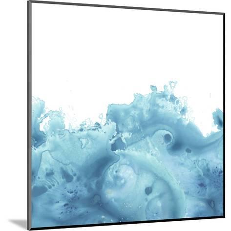 Splash Wave VI-June Vess-Mounted Art Print
