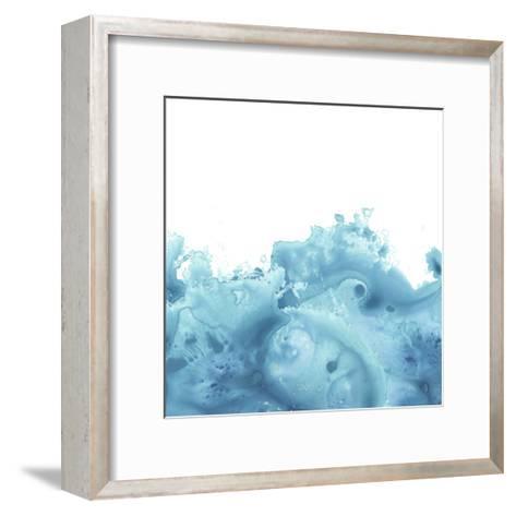 Splash Wave VI-June Vess-Framed Art Print