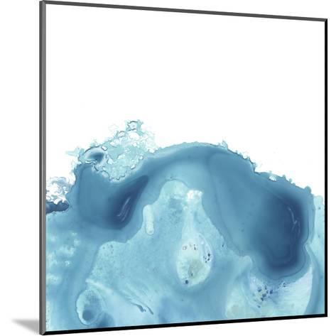 Splash Wave IV-June Vess-Mounted Art Print