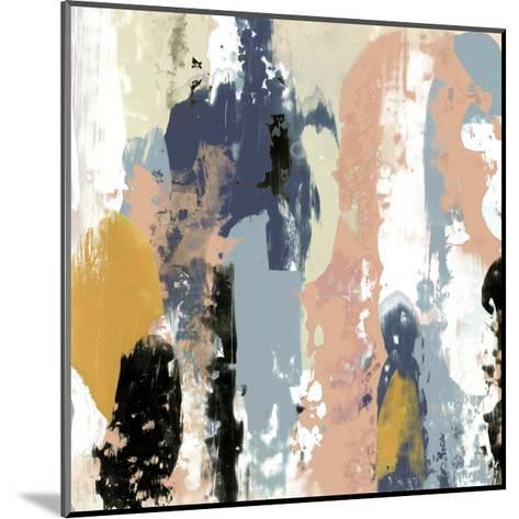 Blueberry Swatches I-Jennifer Goldberger-Mounted Art Print