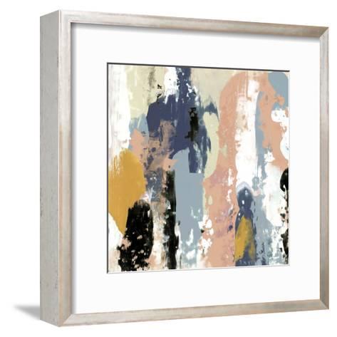 Blueberry Swatches I-Jennifer Goldberger-Framed Art Print