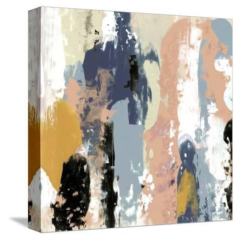Blueberry Swatches I-Jennifer Goldberger-Stretched Canvas Print