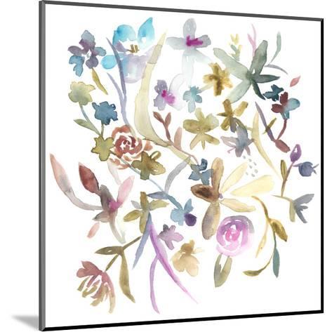 Concord Florals I-Chariklia Zarris-Mounted Art Print