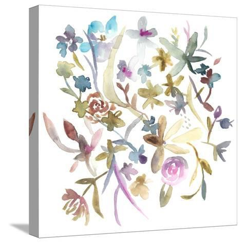 Concord Florals I-Chariklia Zarris-Stretched Canvas Print