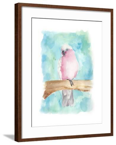 Sweet Tropical Bird III-Regina Moore-Framed Art Print