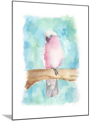 Sweet Tropical Bird III-Regina Moore-Mounted Art Print