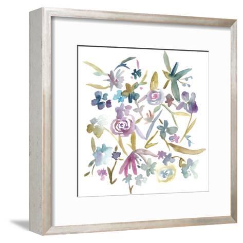 Concord Florals II-Chariklia Zarris-Framed Art Print
