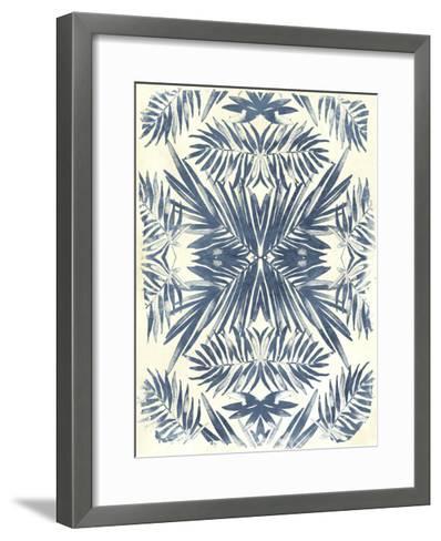 Tropical Kaleidoscope II-June Vess-Framed Art Print
