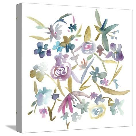 Concord Florals II-Chariklia Zarris-Stretched Canvas Print