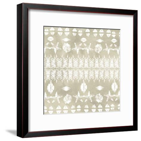 Tribal Coast III-June Vess-Framed Art Print