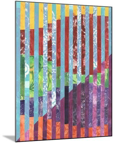 Quilted Monoprints III-Regina Moore-Mounted Art Print