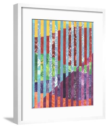 Quilted Monoprints III-Regina Moore-Framed Art Print