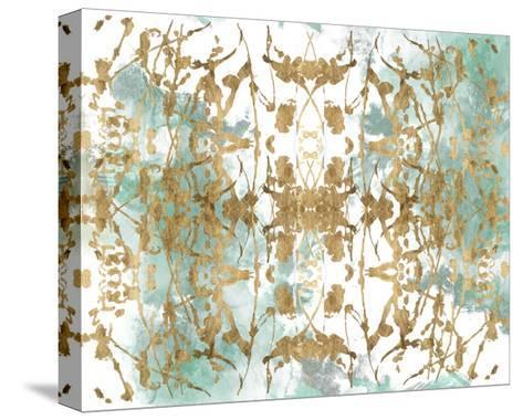 Verdant Mirror II-Jennifer Goldberger-Stretched Canvas Print